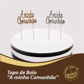 """Topo de bolo :: """"A minha Comunhão""""  Dourado:  👉 https://boutiqueartesanal.pt/topos-de-bolo-e-toppers/4536-topo-de-bolo-dourado-a-minha-comunhao.html   Prateado: 👉 https://boutiqueartesanal.pt/topos-de-bolo-e-toppers/4537-topo-de-bolo-prateado-a-minha-comunhao.html  Saiba tudo na nossa loja on-line: 👉 https://boutiqueartesanal.pt/"""