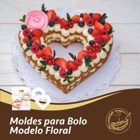 Moldes para bolo :: Modelo floral   Kit com 2 moldes: 👉 https://boutiqueartesanal.pt/outros-acessorios/1024-kit-c-2-moldes-modelo-floral-.html  Saiba tudo na nossa loja on-line: 👉 https://boutiqueartesanal.pt/