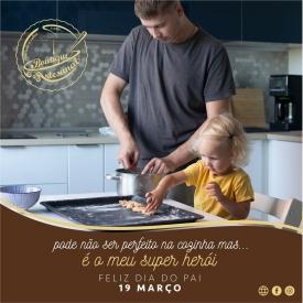 Pode não ser perfeito na cozinha... mas é o meu super herói!!🦸♂️💕💕