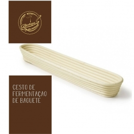 Para  o melhor pão em casa...🍞🍞🍞⠀ ⠀ Cesto de Fermentação de Baguete 40x10cm⠀ ⠀ 👉🏻https://bit.ly/2Cg2WWs