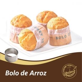 Bolo de Arroz  Aro 6,5cm: 👉 https://boutiqueartesanal.pt/formas-e-aros/1058-aro-bolo-de-arroz-65cm.html  Preparado 500 gr: 👉 https://boutiqueartesanal.pt/preparados-para-bolos/182-mufins-bolo-arroz-e-queq.html  Cintas Bolo de Arroz: 👉 https://boutiqueartesanal.pt/papel/524-cintas-bolo-de-arroz.html  Cintas Mini Bolo de Arroz: 👉 https://boutiqueartesanal.pt/papel/525-cintas-bolo-de-arroz.html  Saiba tudo na nossa loja on-line: 👉 https://boutiqueartesanal.pt/