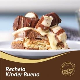 Recheio de Kinder Bueno   200gr: 👉 https://boutiqueartesanal.pt/recheios-e-coberturas/439-creme-kinder-bueno-200-gr.html  Preparado para tortas 500gr: 👉 https://boutiqueartesanal.pt/preparados-para-bolos/454-soft-para-tortas-500g.html  Saiba tudo na nossa loja on-line: 👉 https://boutiqueartesanal.pt/