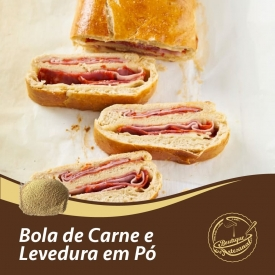 Bola de carne e levedura em pó   Preparado 500gr: 👉 https://boutiqueartesanal.pt/preparados-para-bolos/3688-soft-chocolate-extra-05-kg.html  Levedura 250gr: 👉 https://boutiqueartesanal.pt/especiarias-e-ingredientes-/198-levedura-em-po-80gr.html  Saiba tudo na nossa loja on-line: 👉 https://boutiqueartesanal.pt/